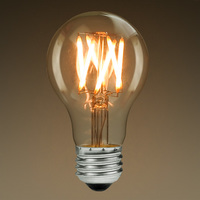 Color Corrected - LED - A19 - 4.5 Watt - 60W Incandescent Equal - 350 Lumens - 2200 Kelvin Warm White - Filament Type