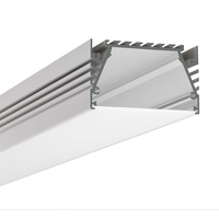 3.28 ft. Anodized Aluminum SEPOD Channel - For LED Tape Light and Strip Light - Klus B6593