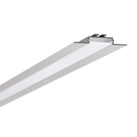 3.28 ft. Anodized Aluminum Opac-30 Channel - For LED Tape Light and Strip Light - Klus B6164