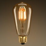LED Edison Bulb - Squirrel Cage Filament - 3.5 Watt Image