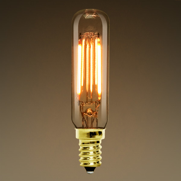 LED - T6 Tubular Bulb - Vertical Filament  Image