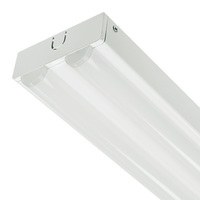 4000 Lumens - 48 x 3.5 in. - LED Lensed Strip Fixture - 48W - 2 Lamp Fluorescent Equal - 4000 Kelvin - 120-277 Volt