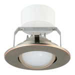 Lithonia  - 4G1ORB LED M6 - 4 in. Adjustable Eyeball LED Downlight Image
