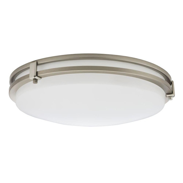 Lithonia FMSATL 13 14840 BN M4 - 13 in. Dia. LED Flush Mount Ceiling Fixture Image