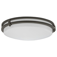 1510 Lumens - 16 in. - LED Flush Mount Ceiling Fixture - 24 Watt - 4000 Kelvin - 120V