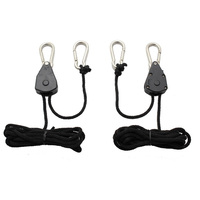 1/8 in. - Heavy Duty Hanging System - 150lb. Max Weight - Set of 2 - Indoor Grow Science GLA-HDH