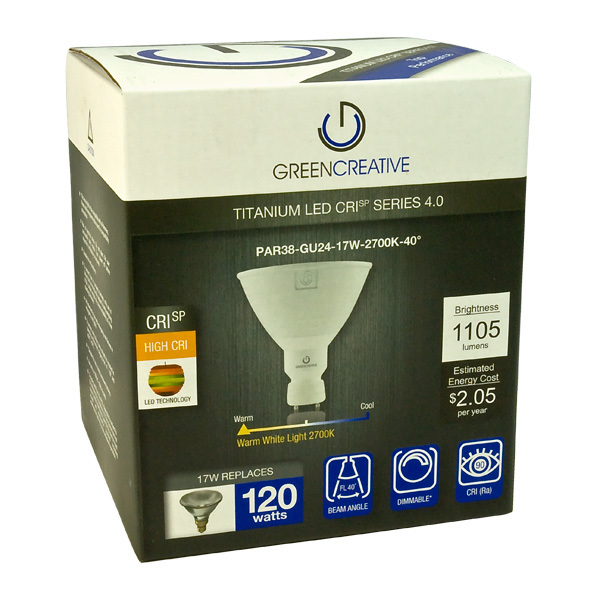 LED - PAR38 - 17 Watt - 1105 Lumens Image
