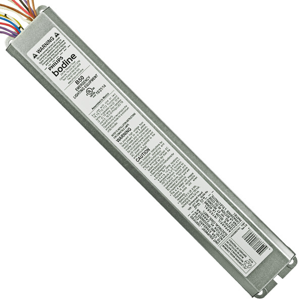 Bodine B50 - Emergency Ballast - Compatible T8/T12 | 1000Bulbs.com on light circuit diagram, emergency ballast circuit, refrigerator parts diagram, backup battery ballast fluorescent diagram, cfl ballast circuit diagram, emergency exit cobra controls wire diagram, emergency ballast installation, emergency light switch panel, 0-10v dimming led diagram, fluorescent fixtures t5 circuit diagram, emergency ballast troubleshooting, emergency standby ballast, emergency battery ballast wiring, electronic ballast circuit diagram,