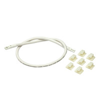 18 in. - 2-Plug Connecting Cable - Includes mounting clips - for Nuvo Plug-and-Play LED Light Bars - Nuvo 63-306