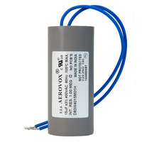 400VAC - Dry Film Capacitor for HID Lighting - 15uf - Plastic Round Case - Aerovox D83W4015M01H