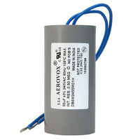 240VAC - Dry Film Capacitor for HID Lighting - 55uf - Plastic Round Case - Aerovox D84W2455M01H