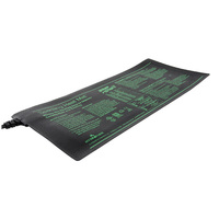6 in. x 14 in. - 8 Watt - Seedling Heat Mat - Waterproof - 6 ft. Power Cord Included - 120 Volt - HydroFarm MT10005