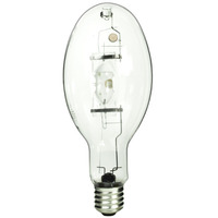 GE 78666 - 400 Watt - ED37 - PulseArc Multi-Vapor - Pulse Start - Metal Halide - Unprotected Arc Tube - 4000K - Mogul Base - ANSI M135/M155  - Universal Burn - MVR400/U/PA