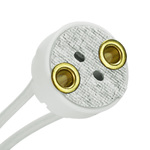 Skirted Bi-Pin Socket - PLT L80054-6 Image