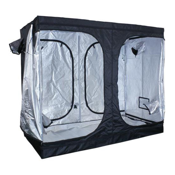 Blackout 200 Grow Tent Image  sc 1 st  1000Bulbs.com & Sun Hut 706308 - Large Indoor Greenhouse - Indoor Grow Tent