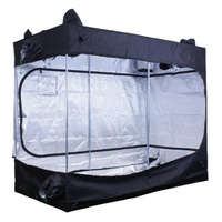 4.6 x 9.3 x 7.3 ft. - Fortress 310 Grow Tent - Mylar Thermal Protection - Adjustable Intake and Exhaust Ports for Ventilation - Waterproof Floor - Sun Hut 706662