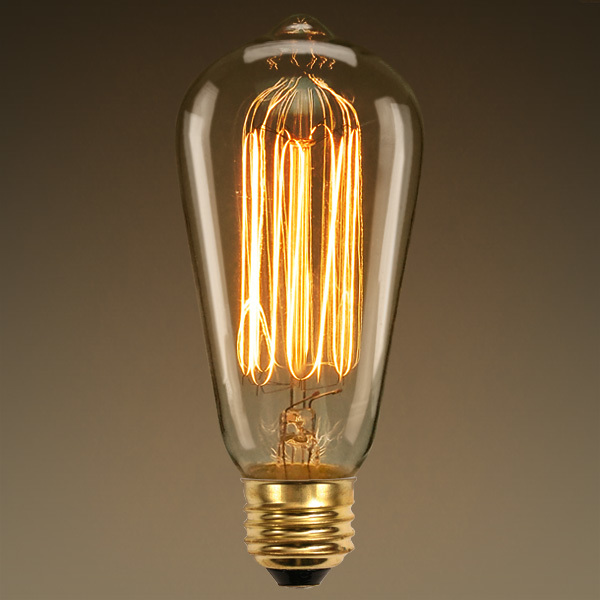 60 Watt - Edison Bulb - 5.2 in. Length Image