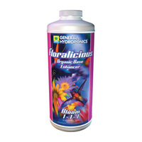 1 qt. - Floralicious Bloom - Yield Enhancer - Hydroponic Nutrient Solution - General Hydroponics 732185