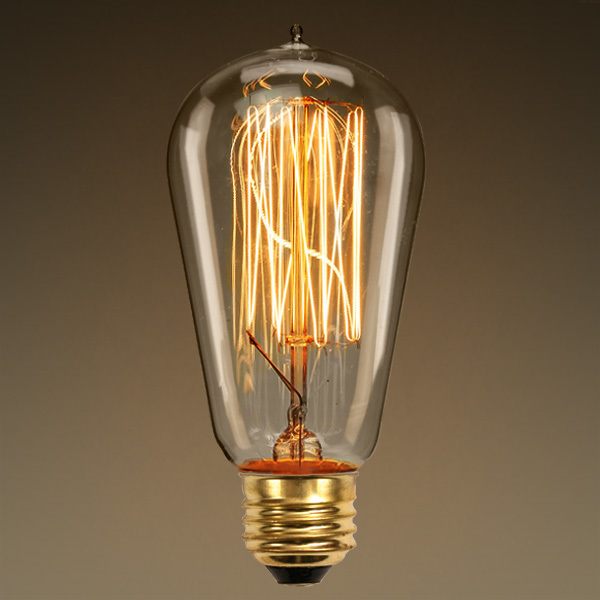 60 Watt Vintage Antique Light Bulb A19