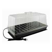 Propagation Station - Includes Heat Mat, Tray, 72 Cell Pack, and 7 in. Dome w/ Vents - Super Sprouter 726400