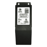 12 Volt Safety Transformer - 100 Watt Maximum - 120 Volt Input - Metal Enclosure - Magnitude M100L12-AR