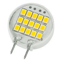 20W Halogen Equal - Bi-Pin Bulb - 80 Degree Beam Angle - 120 Volt - 15,000 Life Hours
