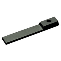 Nora NT-326B - Black - Wire Way Cover - Single or Dual Circuit - Compatible with Halo Track