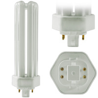 SYLVANIA 21398 - CF42DT/E/IN/841 - 42 Watt - 4 Pin GX24q-4 Base - 4100K - CFL