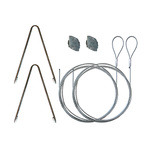 LED Retrofit Suspension Cable Hanging Kit Image