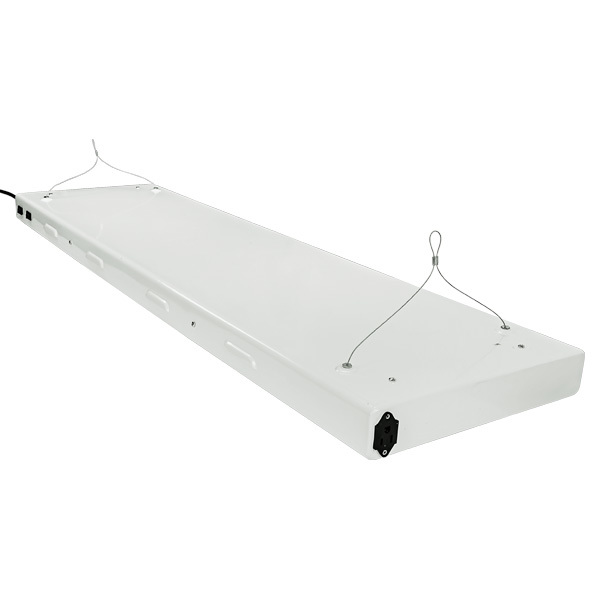 4 ft. - 4 Lamp - F54T5 - Fluorescent Grow Light Fixture  Image