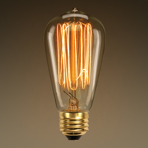 Edison Style - 1910 Reproduction - Marconi Filament Image