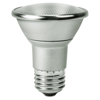 500 Lumens - 2700 Kelvin - LED - PAR20 - 7 Watt - 50W Equal - 25 Deg. Narrow Flood - CRI 80 - Satco S9400