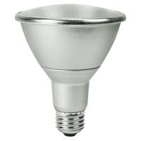 950 Lumens - 2700 Kelvin - LED - PAR30 Long Neck - 13 Watt - 75W Equal - 60 Deg. Wide Flood - CRI 80 - Satco S9435