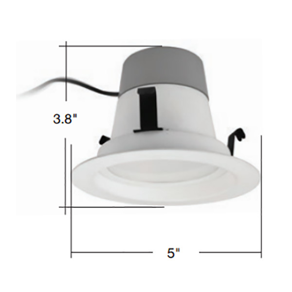 4in. Retrofit LED Downlight - 10 Watt Image