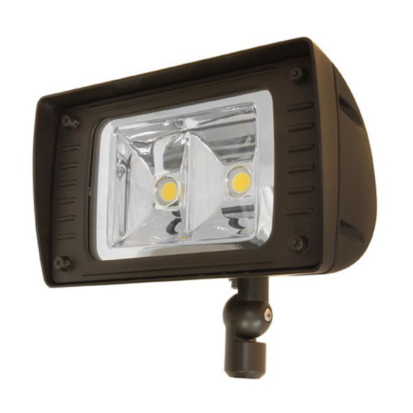 5,660 Lumens - 49 Watt - LED Flood Light Fixture Image