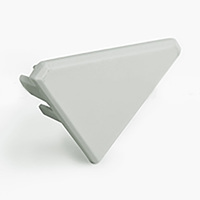 PP End Cap for KOPRO-P - Light Gray - Klus 24117