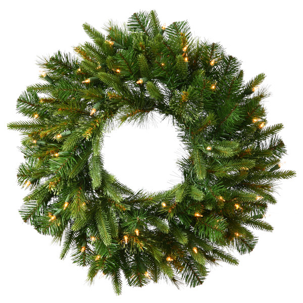 7 ft. Christmas Wreath - Cashmere Pine Image