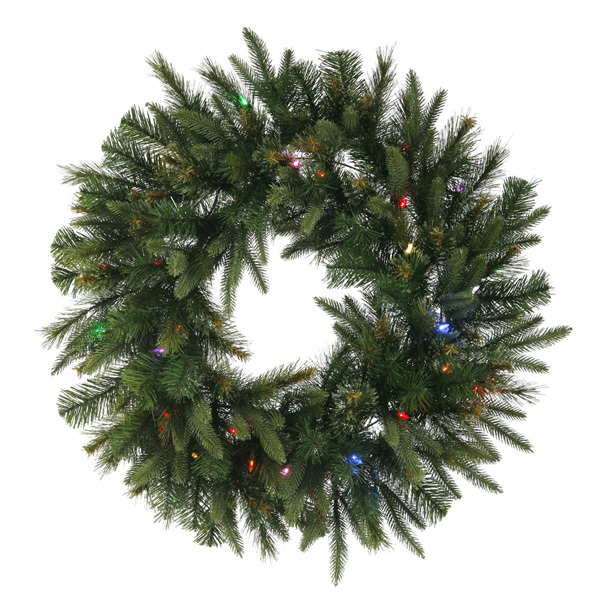 3.5 ft. Christmas Wreath - Cashmere Pine Image