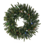 5 ft. Christmas Wreath - Cashmere Pine Image