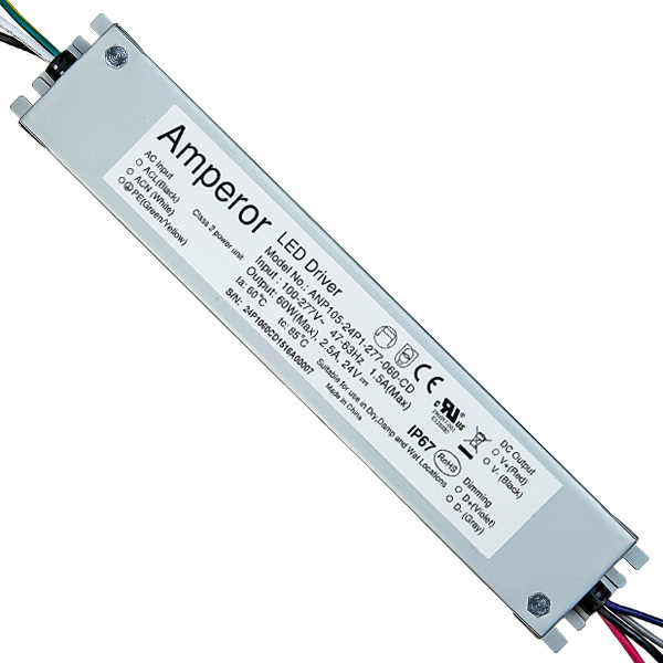 LED Driver - 25/40/60 Watt - 15-24V Output Voltage Image