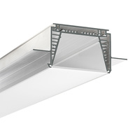 6.56 ft. Double Anodized Aluminum - SEKOMA LED Extrusion - For LED Tape Light and Strip Light - KLUS-B6595ANODAL