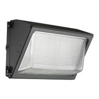 3500 Lumens - LED Wall Pack with Photocell - 41 Watt - 175W MH Equal - 5000 Kelvin - 120V - Lithonia TWR1 LED 2 50K MVOLT PE M2