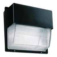 7000 Lumens - LED Wall Pack - 72 Watt - 400W MH Equal - 5000 Kelvin - 120V - Lithonia TWH LED 20C 50K