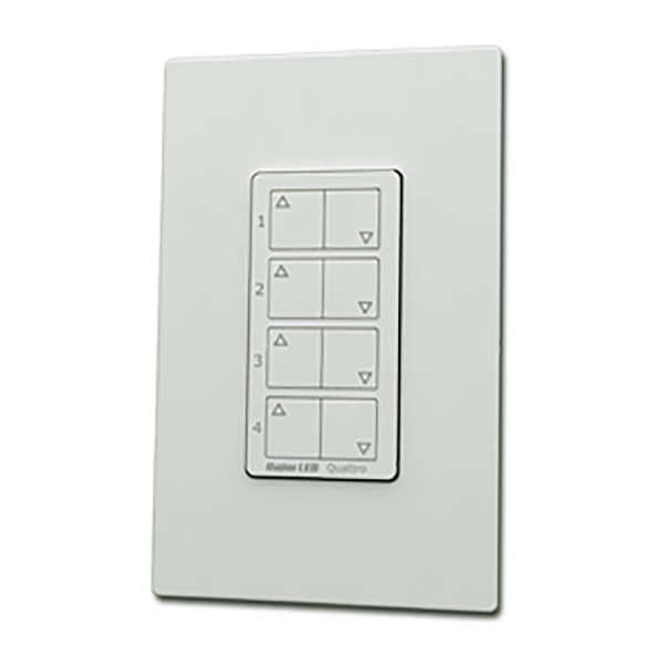 Quattro RF Wireless Remote - 4 Zone Dimming Control Image