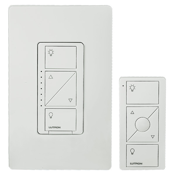 lutron caseta p bdg pkg1w dimmer kit and pico remote. Black Bedroom Furniture Sets. Home Design Ideas