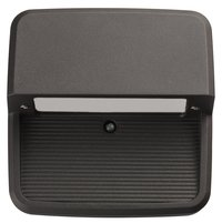 9 Watt - LED - Square Step Light - Cast Aluminum - Bronze Finish - 4000K - 120-277 Volt - Lithonia OLSS DDB M6