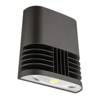 4000 Lumens - LED Wall Pack - 37 Watt - 250W MH Equal - 5000 Kelvin - 120V - Lithonia OLWX1 LED 40W 50K M4
