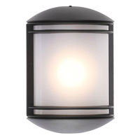 12.5 in. LED Flush Mount Wall Fixture - 9 Watt - 513 Lumens - 4000 Kelvin - IP65 Rated - 120V - 5 Year Warranty - Lithonia OLCS 8 DDB M4