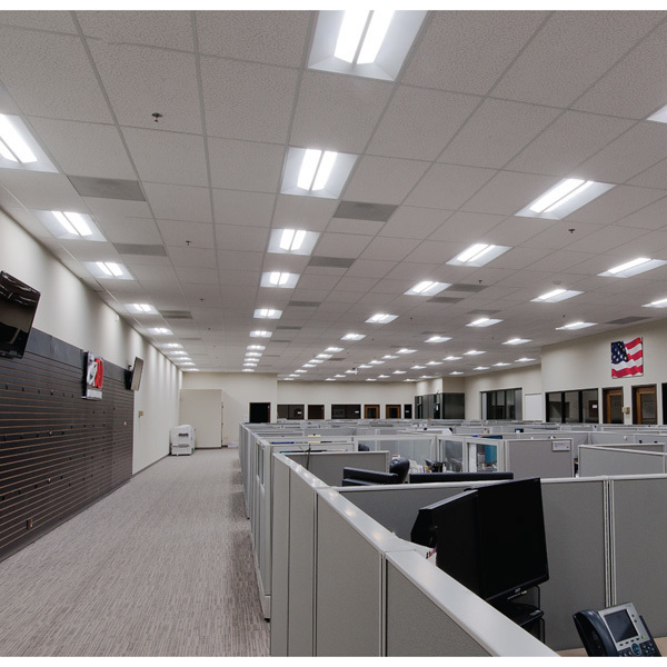 2 x 4 LED Recessed Troffer - 4000 Lumens Image : cree lighting cr24 - www.canuckmediamonitor.org