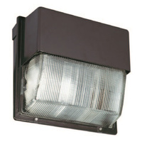 400 Watt - Pulse Start - Metal Halide - Wall Pack - 120-277 Volt - Lithonia TWH 400M TB SCWA LPI